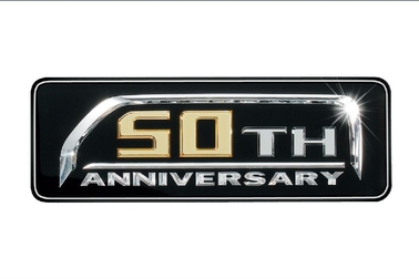 50TH ANNIVERSARY LIMITED エンブレム